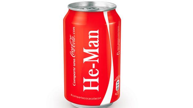 Lata de Coca Cola versión He-Man por Brainiak